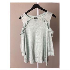 Cold Shoulder Sweater-Nordstrom